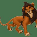 Rei Leão – Scar PNG 01