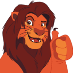 Rei Leão – Simba PNG 26