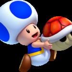Super Mario – Toad PNG 03