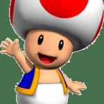 Super Mario – Toad PNG 06