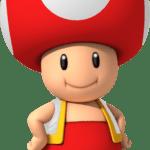 Super Mario – Toad PNG 07