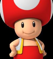 Super Mario - Toad PNG