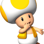 Super Mario – Toad PNG 08