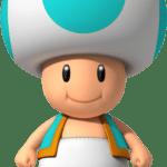 Super Mario – Toad PNG 09