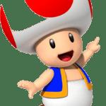 Super Mario – Toad PNG 10