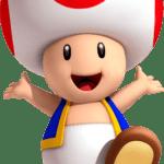 Super Mario – Toad PNG 14