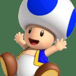 Super Mario – Toad PNG 23