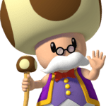 Super Mario – Toad PNG 25