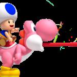 Super Mario – Toad PNG 26
