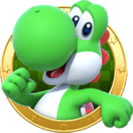 Super Mario – Yoshi PNG 01