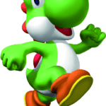 Super Mario – Yoshi PNG 02