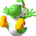 Super Mario – Yoshi PNG 05