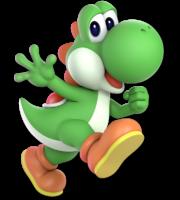 Super Mario - Yoshi PNG