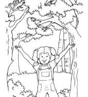 Desenho de Alegria do Senhor para colorir