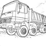 300 Desenhos De Meios De Transportes Para Colorir