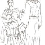 Imagens de Soldado de Jesus para colorir
