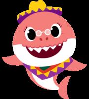 Baby Shark Rosa PNG