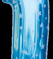 Balão Azul PNG