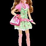 Boneca Barbie Colegial PNG