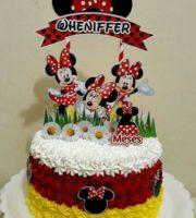 Bolo Decorado da Minnie Mouse