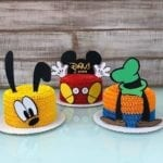 Figuras de Bolo de Aniversário do Mickey Mouse