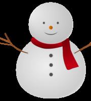 Boneco de Neve Natal PNG