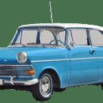 Carro Antigo Clássico Azul