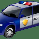 Carro de Polícia PNG