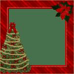 Desenho Borda de Natal PNG