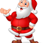 Desenho Papai Noel PNG