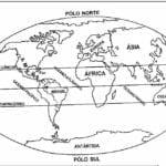 Modelos de Desenhos de Geografia para Imprimir