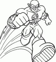 Desenho de Super Heróis para Colorir