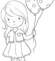 Desenho para Menina Colorir