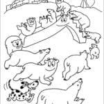 Desenhos de Barbapapa para Colorir e Imprimir