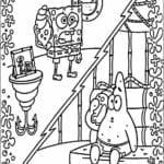 Bob Esponja desenhos para colorir