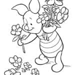 Figuras do Ursinho Pooh para colorir