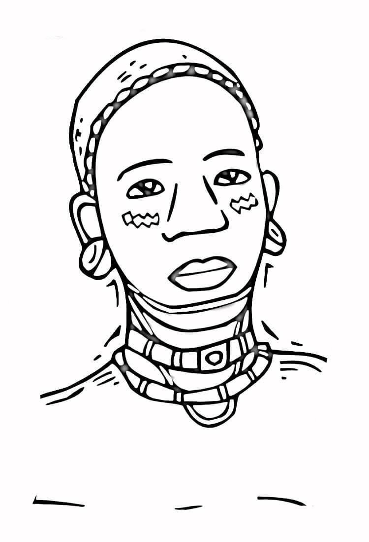 Desenhos para Colorir Sobre Consciência Negra