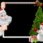 Figura Borda de Natal PNG