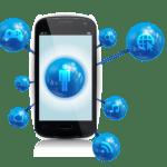 Figura Internet Mobile App PNG