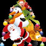 Ilustração Árvore de Natal Vetor PNG