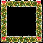Ilustração Borda de Natal PNG