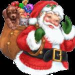 Ilustração Papai Noel PNG