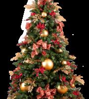 Árvore de Natal Vetor PNG