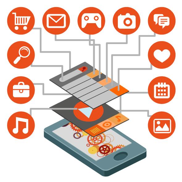 Mobile APP PNG, imagen de la aplicación móvil PNG, image mobile app PNG