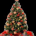 Incrível Árvore de Natal Vetor PNG