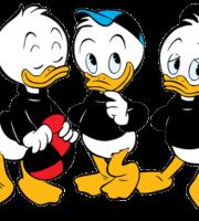 Mickey - Louie, Dewey, Huey, Daisy, Tio Patinhas PNG
