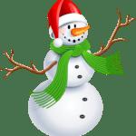 Natal – Boneco de Neve PNG