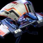 Royale X Planador Fortnite Imagem PNG