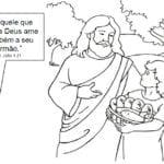 Desenhos Evangélicos para Colorir