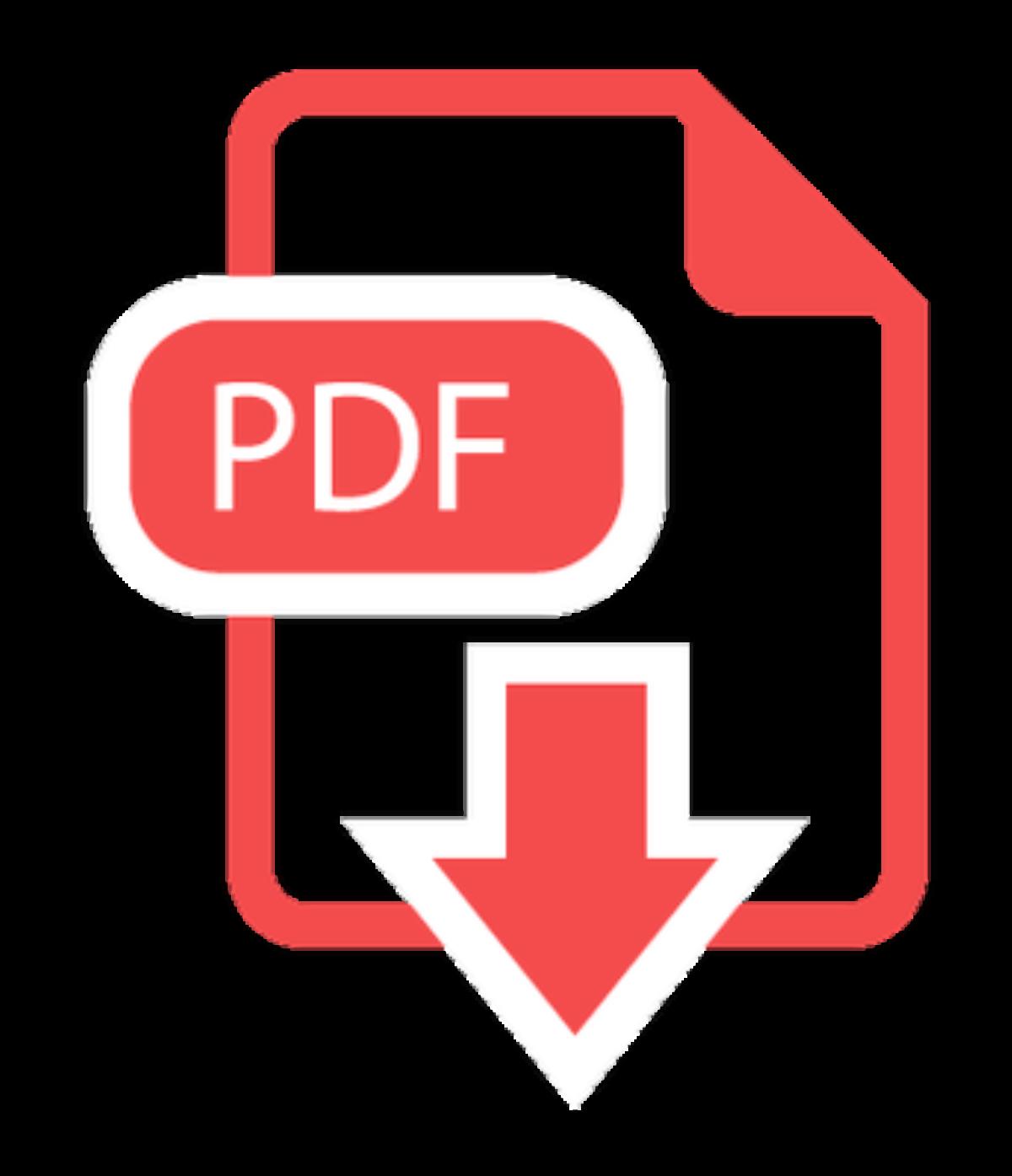 Ícone PDF PNG - Imagem em Alta Qualidade - Ícone PDF PNG